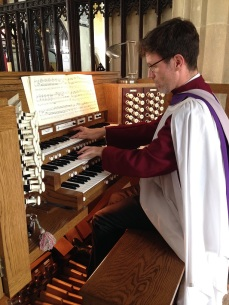 James-at-organ